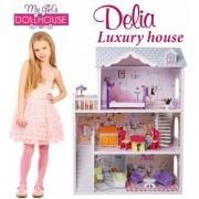 Кукольный домик Luxury house Delia doll house 4108