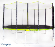 Батут Fitness Trampoline GREEN 15 FT Extreme