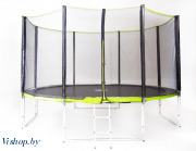 Батут Fitness Trampoline GREEN 14 FT Extreme