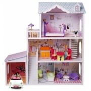 Кукольный домик Luxury house Delia doll house с гаражом 4108WG
